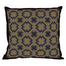 GU 10670 Cross stitch pattern - Geometric pillow