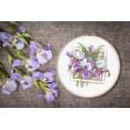 GC 10314 Cross stitch pattern - Stately irises