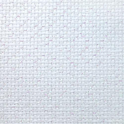 964-54-4254-11 Metallic AIDA 54/10cm (14 ct) white - sheet 42 x 54 cm
