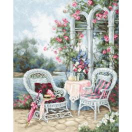 LS B2378 Cross stitch kit - Victorian memories