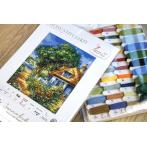LS BU5000 Cross stitch kit - Summer landscape