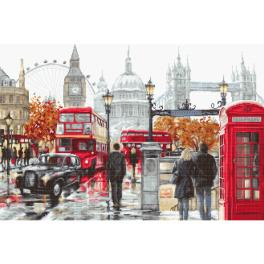LS B2376 Cross stitch kit - London