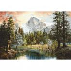 LS B604 Cross stitch kit - Nature's wonderland