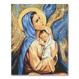 PC4050558 Painting by numbers - Holy Mother of God, Mary