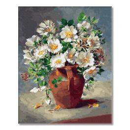 PC4050465 Painting by numbers - White flowers in a jug
