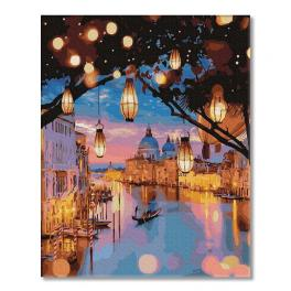 PC4050480 Painting by numbers - Venice night lights