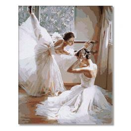 PC4050019 Painting by numbers - Ballerinas