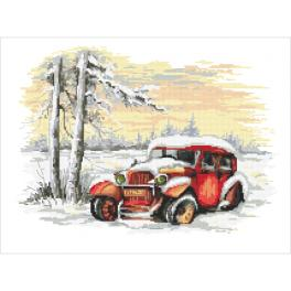 ZN 10454 Cross stitch kit with tapestry - Lost in time