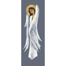 Z 10455 Cross stitch kit - Pensive angel