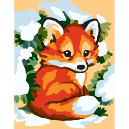 CA 3318K Gobelin kit - Winter fox