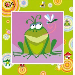 CA 2010K Gobelin kit - Froggy