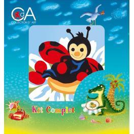 CA 1017K Gobelin kit - Ladybird