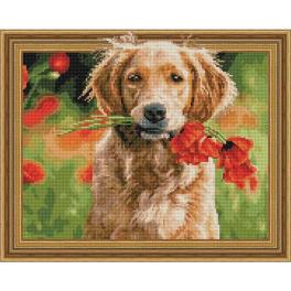 5PD4050037 Diamond painting kit - Bouquet for the host