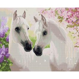 PD4050084 Diamond painting kit - Love story