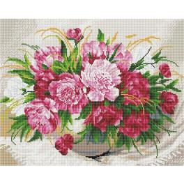 PD4050176 Diamond painting kit - Delicate flowers