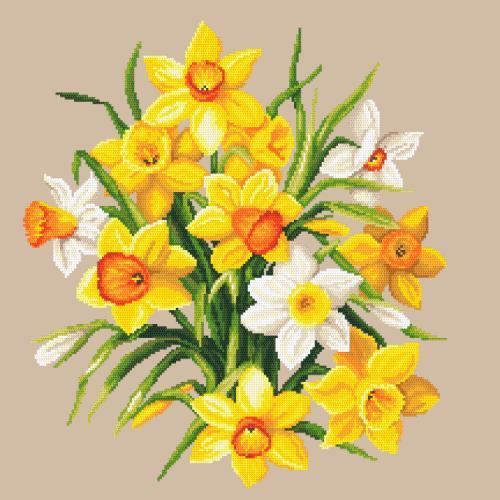 Z 10672 Cross stitch kit - Narcissus II