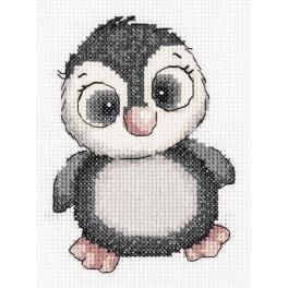 PA 8-369 Cross stitch kit - Kiki the penguin