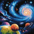 RIO AM0047 Diamond painting kit - Other worlds
