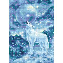 RIO AM0042 Diamond painting kit - WIce-cold wind