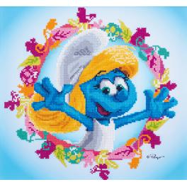 VPN-0185220 Diamond painting kit - The Smurfs - Smurfette