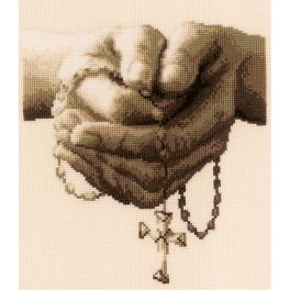 VPN-0021381 Cross stitch kit - Praying