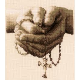 VPN-0021381 Cross stitch kit - Praying