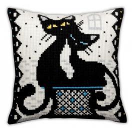 CA 5382 Cross stitch tapestry kit - Cushion - Love
