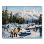 PC4050755 Painting by numbers - Deer in winter