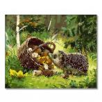 PC4050343 Painting by numbers - Forest hedgehog