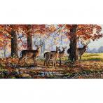 MER K-168 Cross stitch kit - Under the oaks