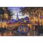 MER K-186 Cross stitch kit - Twilight reflection