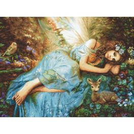 LETI 960 Cross stitch kit - Spring fairy