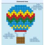 DDS.013 Diamond painting kit - Up up & away