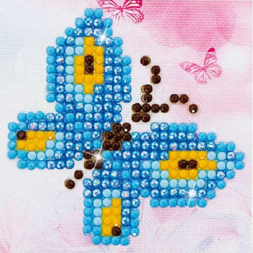 DDS.002 Diamond painting kit - Butterfly sparkle