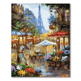 GX25578 Painting by numbers - Streets of Paris