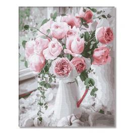 GX29390 Painting by numbers - Powder roses
