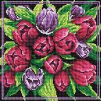 PD3030011 Diamond painting kit - Tulip bouquet