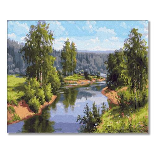 PC4050554 Painting by numbers - Summer landscape