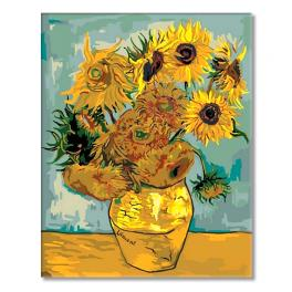 MG098 Painting by numbers - Sunflowers - V. van Gogh