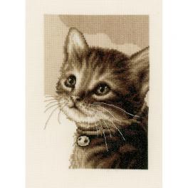 VPN-0158081 Cross stitch kit - Kitten