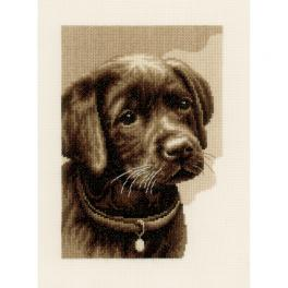 VPN-0158080 Cross stitch kit - Puppy