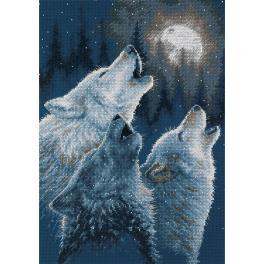 DIM 35203 Cross stitch kit - Full moon
