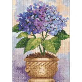 DIM 6959 Cross stitch kit - Hydrangea