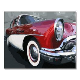 PC4050696 Painting by numbers - Classic old school car