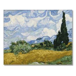 PC4050521 Painting by numbers - Wheat field with cypresses - V. van Gogh