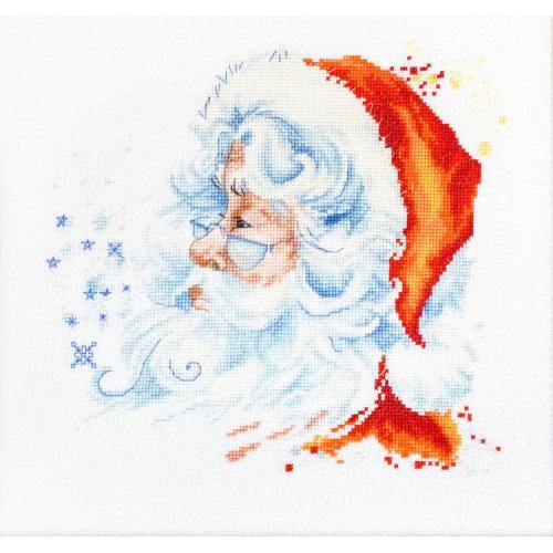 LS B1137 Cross stitch kit - Santa Claus