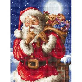 LETI L8000 Cross stitch kit - Santa's secret