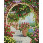 M AZ-1800 Diamond painting kit - Sunny porch