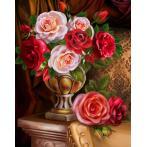 M AZ-1731 Diamond painting kit - Noble roses