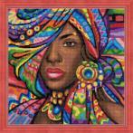 M AZ-1589 Diamond painting kit - Ghana